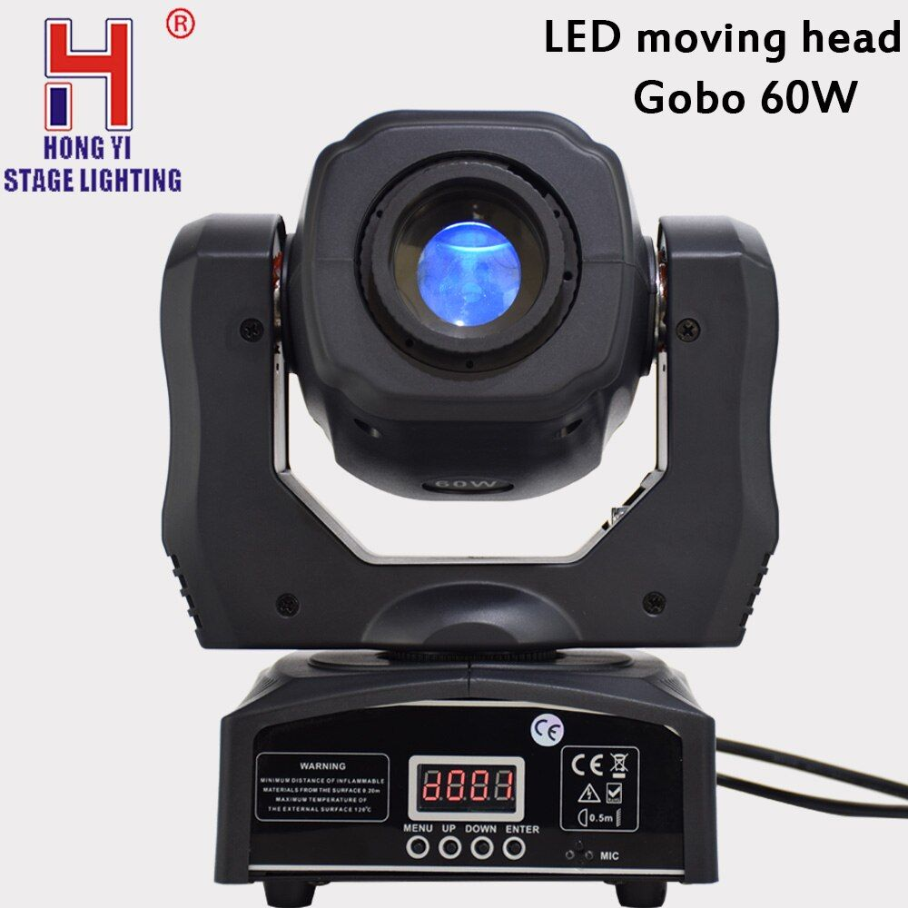 LED spot moving head light 60W gobos