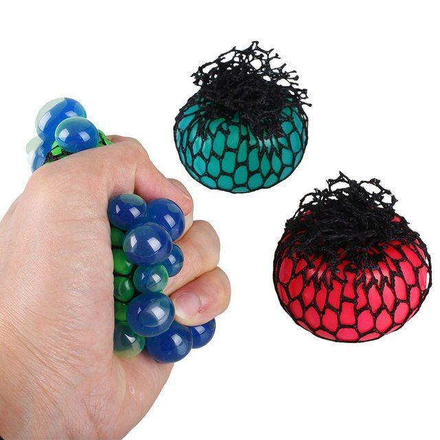 Vent Grape Ball Funny Toys Anti Stress Reliever Autism Squeeze Decompression Fun Prank Halloween Gift Toy Gadget