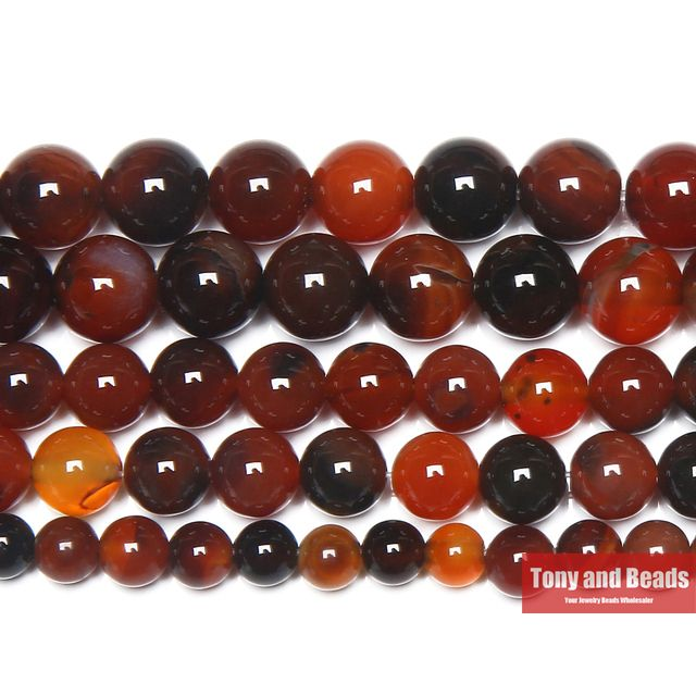 "Free Shipping Natural Stone Dream Agates Round Gem Loose Strand Beads 15"" Strand 6 8 10 12MM Pick Size For Jewelry Making"