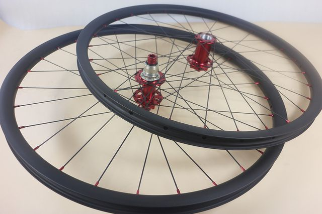 29-inch Lefty 2.0 Wheeslet 30mm x 30mm 29er MTB XC left hand bike front 83mm rear 135mm / 142mm TA hub carbon clincher wheels