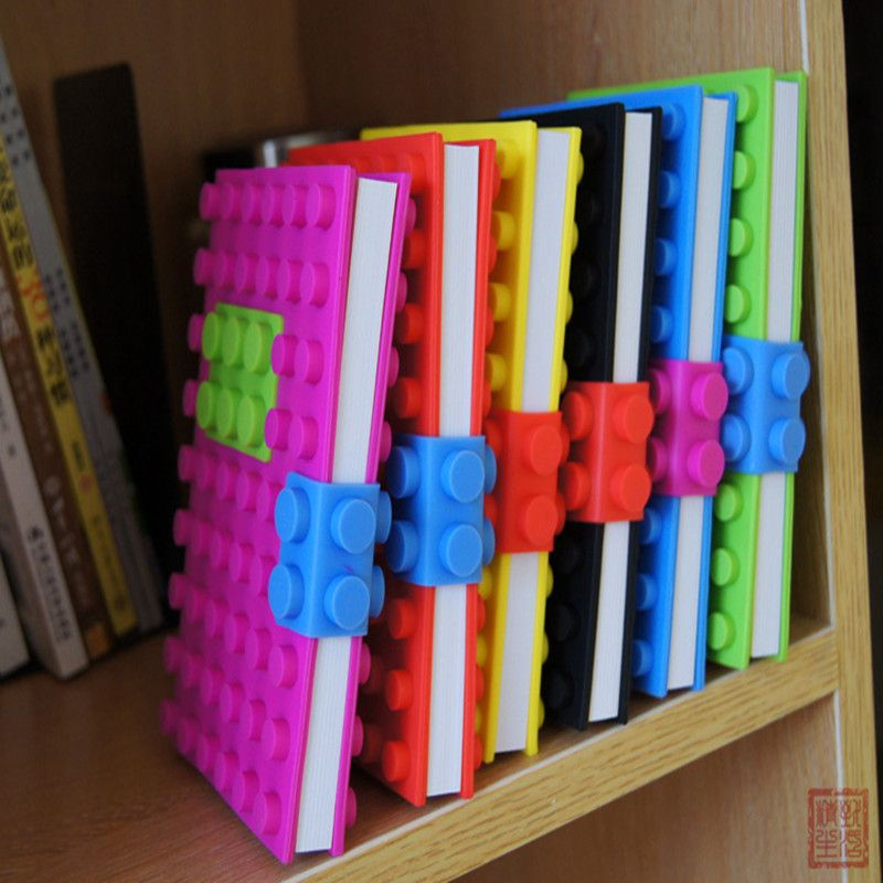 Wholesale Vintage Composition Book Daily Memos notebook planner death note school sketchbook Lego for kids