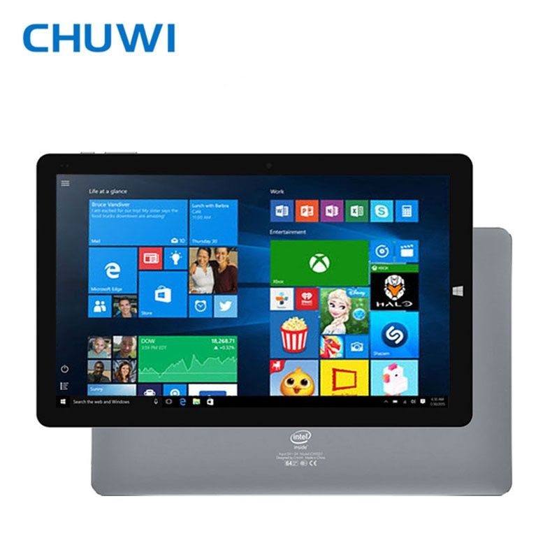 CHUWI Official! 10.1 Inch CHUWI HiBook Pro Dual OS Tablet PC Windows10 Android 5.1 Intel Atom Z8300 4GB RAM 64GB ROM 2560x1600