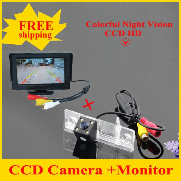 Car parking system car reversing car rear view camera +  Car Mirror Monitor For Chevrolet Epica/Lova/Aveo/Captiva/Cruze/Lacetti