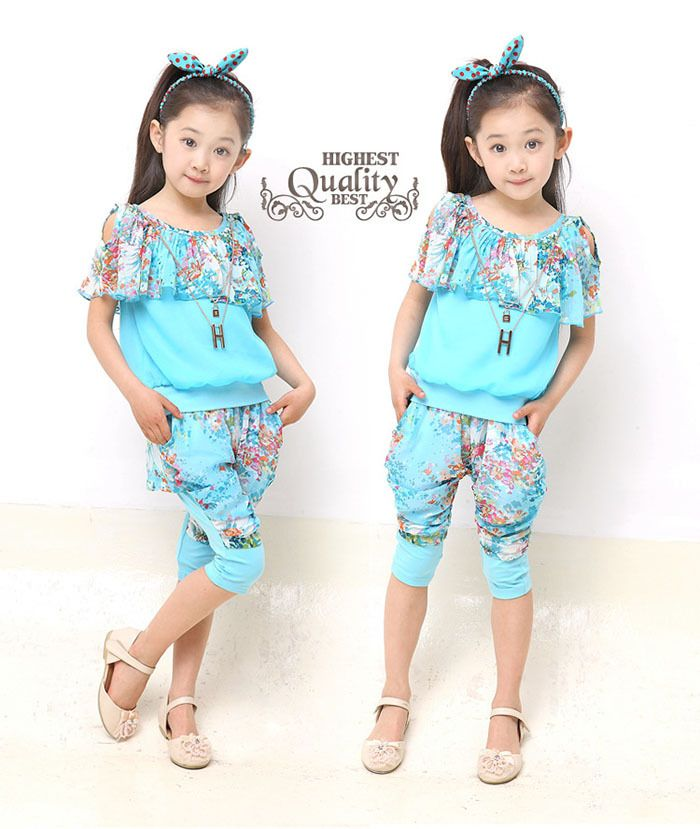Toddler Girls Summer Clothes Sets For Kids Wear to 2 4 6 8 10 12 Year Baby Wear Girls Elegant Clothing for Teens Vetement Enfant