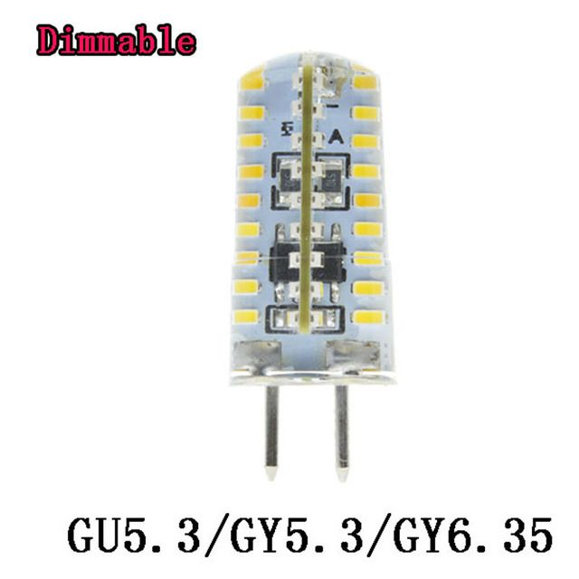 High Power GU5.3 GY6.35 LED Lamp GY5.3 Lampada LED Bulb 220V Lamparas Spotlight 6W 7W 8W  9W  Spot light warm white cool white