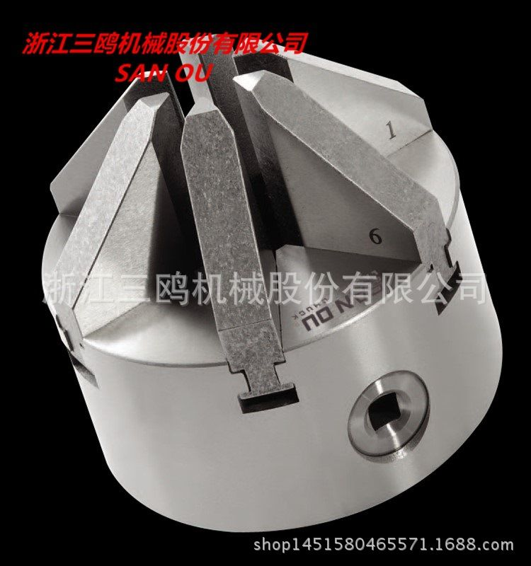 K13-100  Six Jaws Chuck Self-Centering Lathe Chuck 100mm Sloped Jaws CNC Milling Cutting Machine