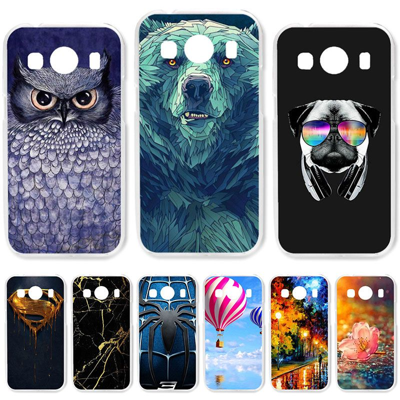 TAOYUNXI Soft TPU Case For Samsung Galaxy Ace 4 LTE G357FZ Cases For Galaxy Ace Style LTE G357 4.3 inch DIY Painted Covers