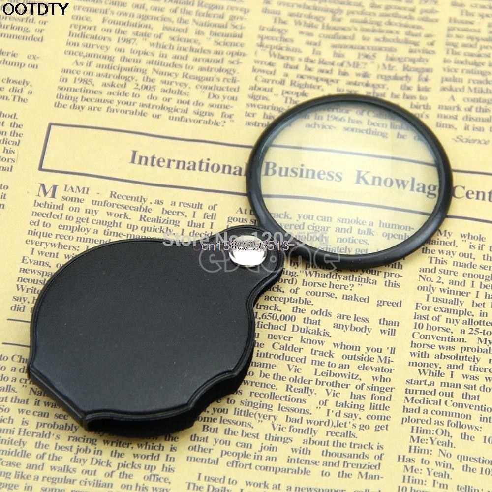 Magnifier Mini Pocket 5X 45mm Folding Jewelry Magnifier Magnifying Eye Glass Loupe Lens