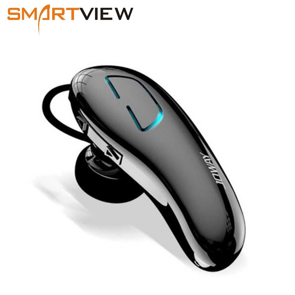 JOWAY H02 earphone Mini Wireless Bluetooth Headphones Ear Hook Headset with Microphone for mobile phone iphone Xiaomi