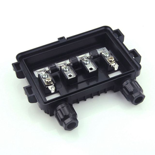 18 pcs waterproof IP65 100W-180W junction box for Solar Panel connect