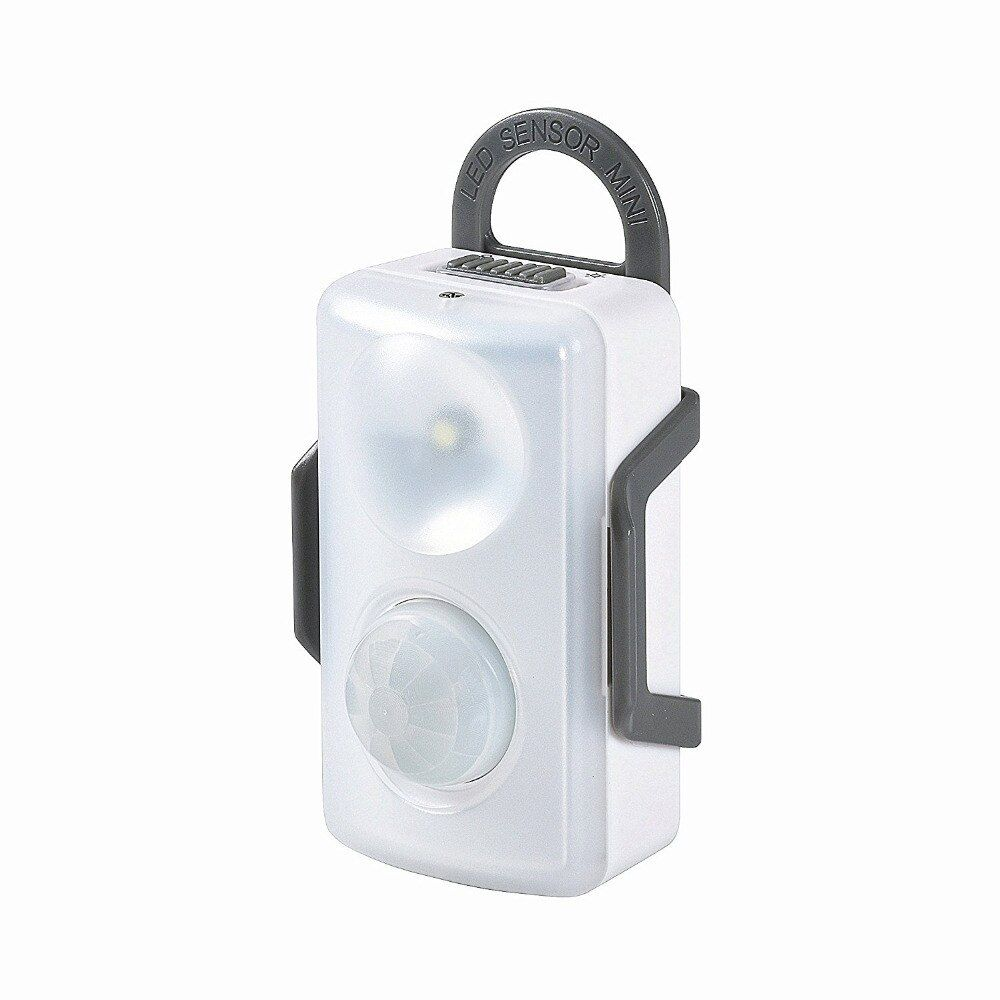 LED Motion Sensor Light Indoor Night Lighting for Home Closet Toilet Wardrobe Wireless Battery Powered with Infrared Detector