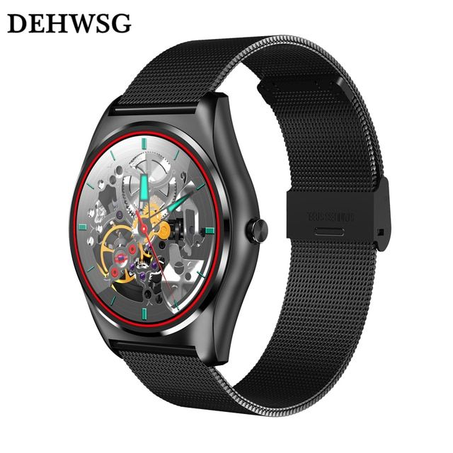 DEHWSG 2017 New smart watch N3 support Heart rate monitor call SMS reminder MP3 player wristwatch For IOS Android Samsung pk G3