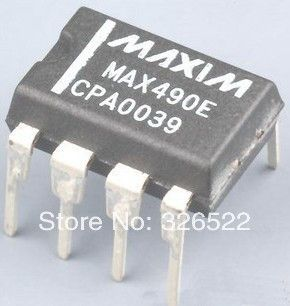 MAX490 MAX490CPA Low-Power, Slew-Rate-Limited RS-485/RS-422 Transceivers DIP-8