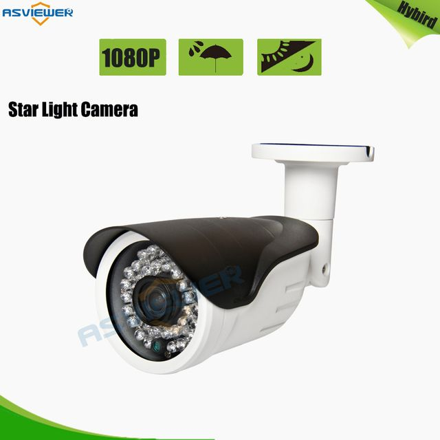 Sony IMX307 Star Light 2MP/1080P High Resolution Hybrid Camera Support AHD/CVI/TVI/CVBS 4 IN 1 Output with 36pcs IR AS-MHD8310RL