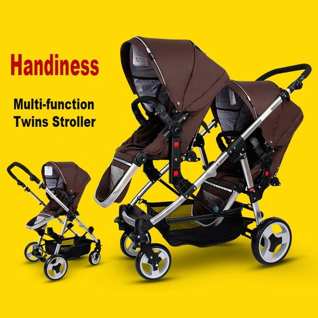 Folding Travel Stroller Essential Babies Twins Strollers Cars For Two Babies Kids Trolley China Pushchair Inflatable