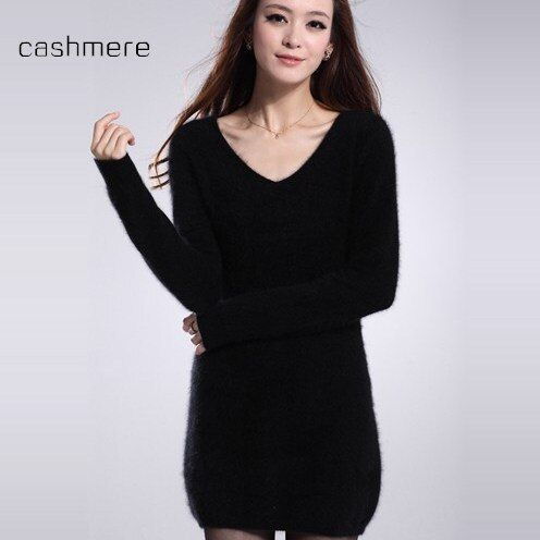 Free shipping autumn and winter women long sweater dress package hip shirt female sweater pullover casual sweater lady