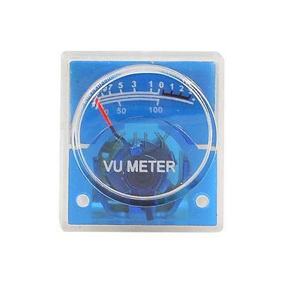 25mm x 28mm No Lamp Mini DVD VU Meter 500uA 700 Ohm