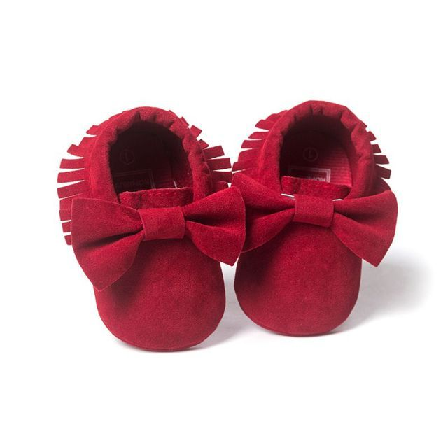 Girls Boys Soft Sole Crib Shoes Kids Baby Anti-slip  Sneakers