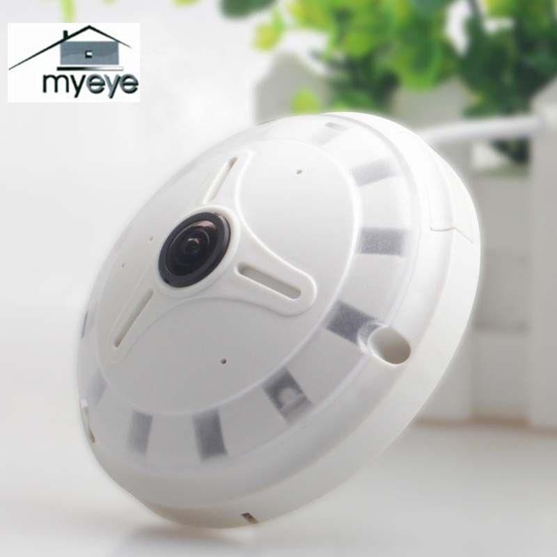 Myeye TA2201 IP Camera 360 Fisheye Panoramic Dome Camera 1.3MP 960P ONVIF CCTV Night Vision Security IP Camera Home Safety