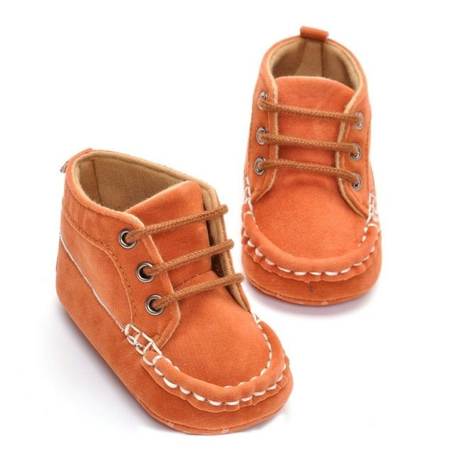 2017 Spring Autumn For 0-18 Months Infant Baby Boy Girl Cross-tied Soft Sole Cotton Cloth First Walkers Crib Shoes