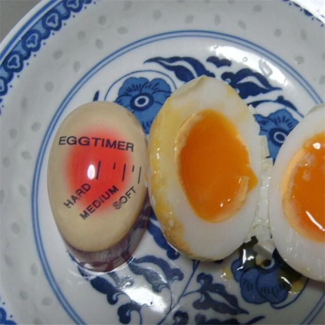 High Quality 1pcs Egg Perfect Color Changing Timer Yummy Soft Hard Boiled Eggs Cooking Kitchen