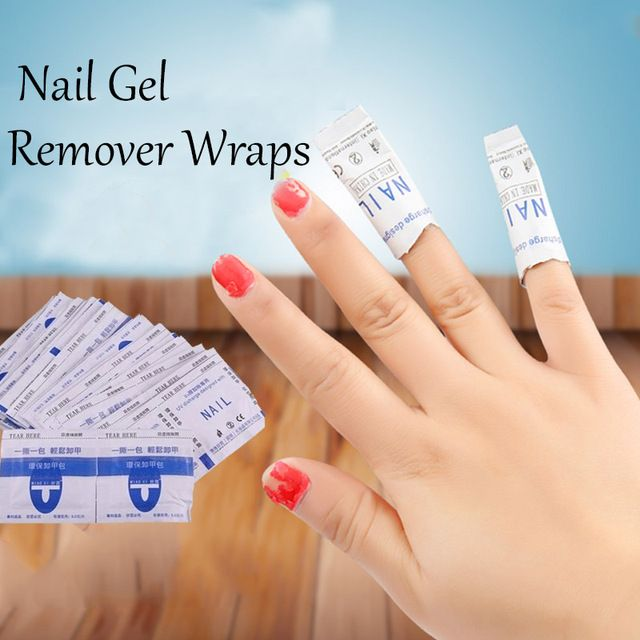 20pcs Gel Polish Remover Wraps Pads Manicure Tools Wet Wipes Paper Pads Foil Nail Art Cleaner for UV Gel