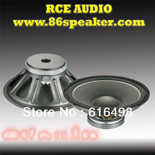 15 inch professional woofer speaker Pro loudspeaker best subwoofer replacement for audio equipment