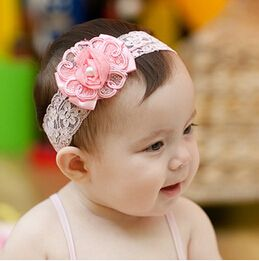 Hot  New Style Beautiful Headband Hairband Kids Girls Flowers Bow Headbands Kids' Hair Accessories Kids Bowknot Gift A118