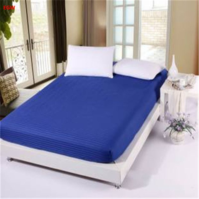 Fitted sheet with rubber mattress cover elastic sheet blanket bedspread bedclothes cushion cover bed sheet bed cover Customiz