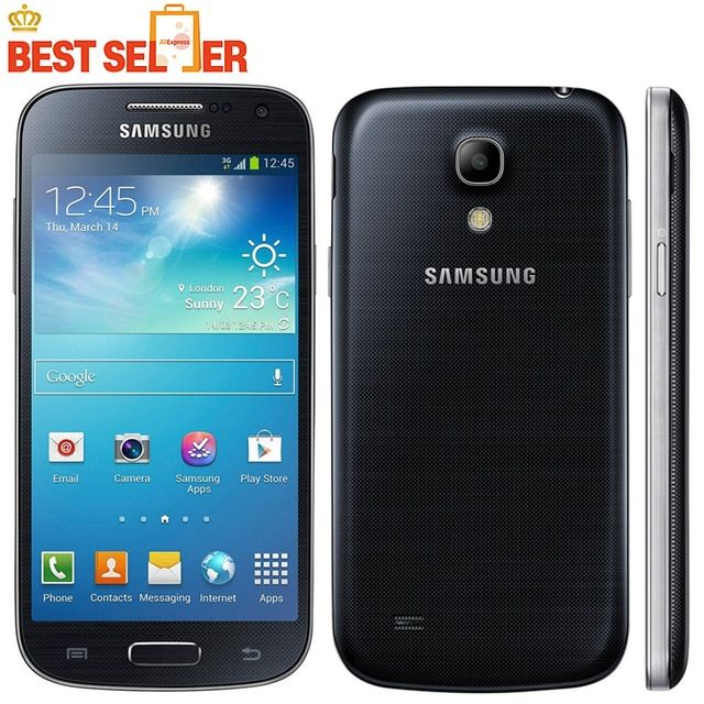 Original Unlocked Samsung Galaxy S4 Mini I9192 Cell Phone 3G 4.3''Touch NFC WIFI GPS 8MP Camera Refurbished Mobile Phone