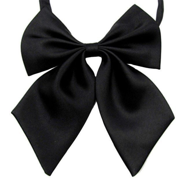 Hot Sale 2017 Formal Commercial Bow Tie Butterfly Cravat Silk Bowtie Solid Color Marriage Bow Ties For Women Formal Business