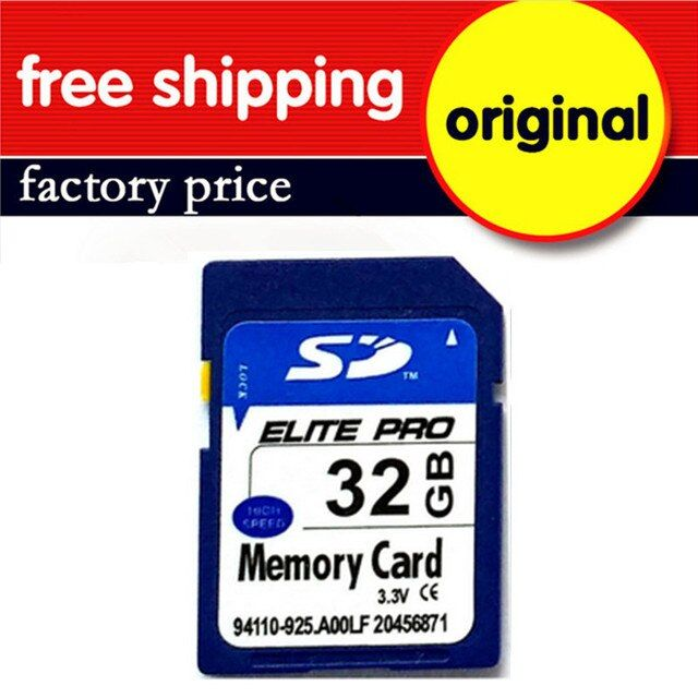 10PCS/LOT Factory Wholesale Memory SD Cards Real Capacity  SD Card 32GB Class 10 New cartao de memoria 32 GB Free Shipping