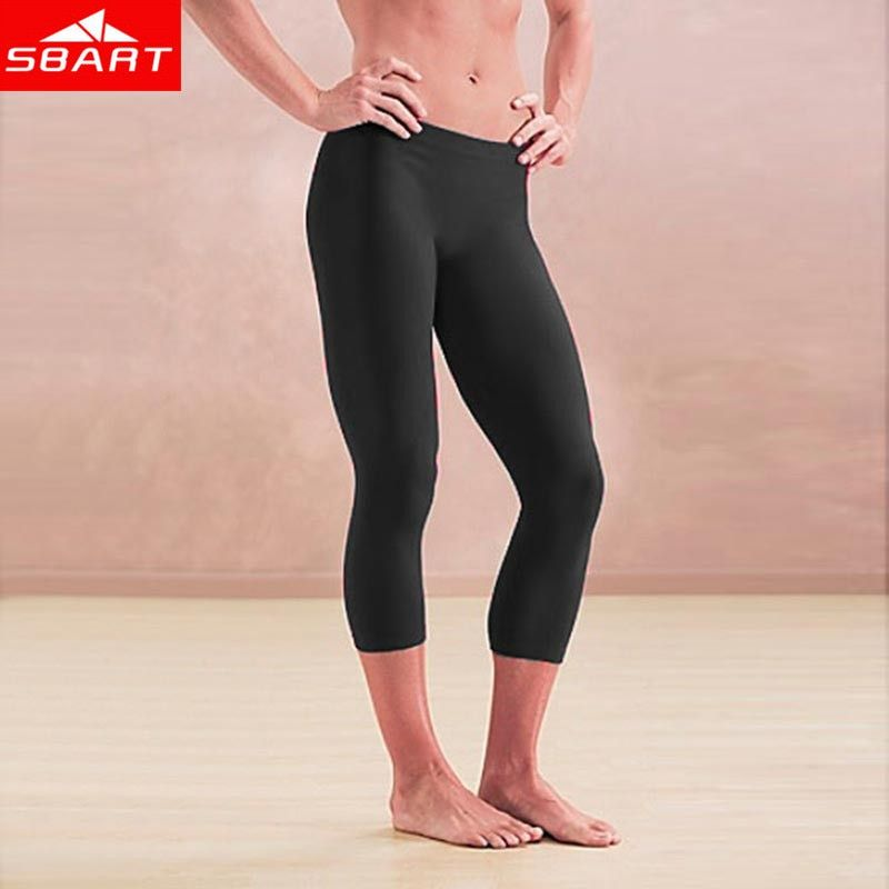 SBART Sexy Rash Guard Pants Women Plus Size Leggings Black Gym Fitness Women In Tight Running Pants Calzas Deportivas Mujer L