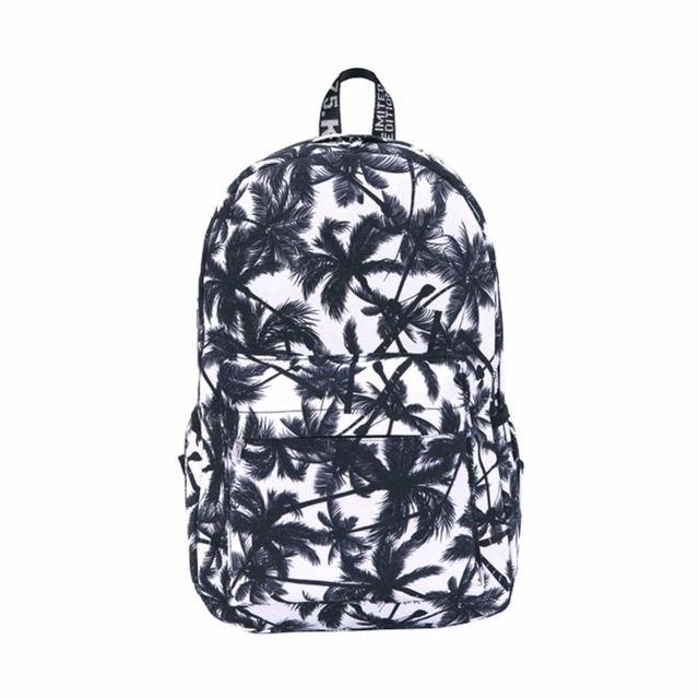 Fashion Canvas Bags Retro Casual School Bags FOR Girls Women Printing Backpacks Women and Men Rucksack Backpack Travel Bags