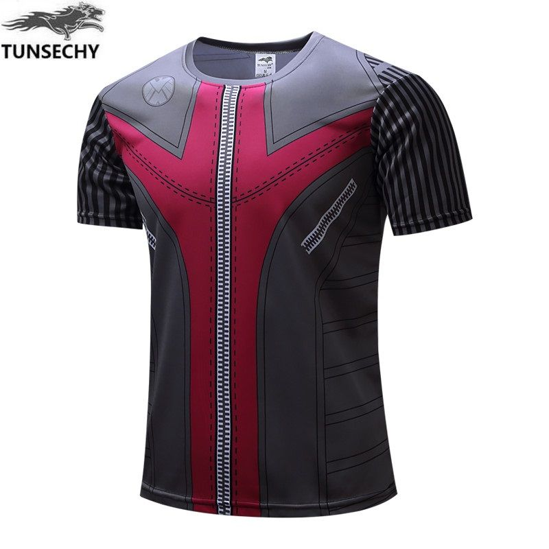 Iron man the avengers surprised interesting new male fashion T-shirt tops t-shirts with short sleeves in summer men's T-shirt