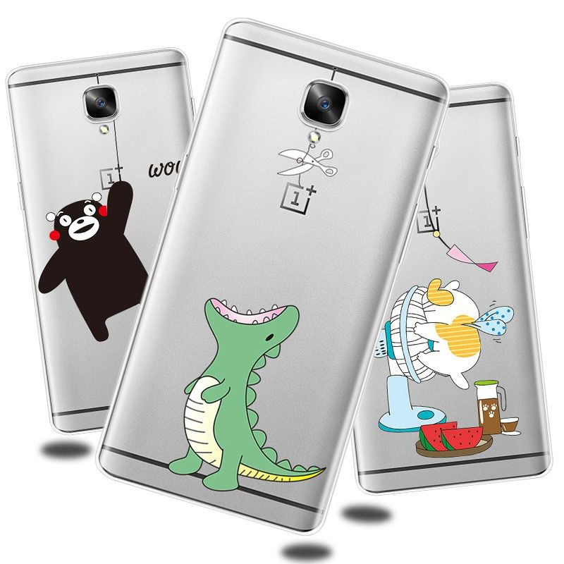 Oneplus 3/Oneplus 3t Case Silicon Transparent clear Back Cover Case For Oneplus 3 / One plus Three T Case and Cover.