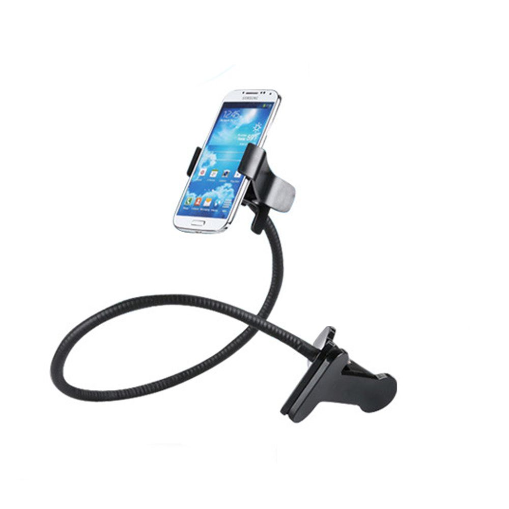 Universal Long Arm Lazy Mobile Phone Gooseneck Stand Holder Stents Flexible Bed Desk Table Clip Bracket For iphone Smartphone