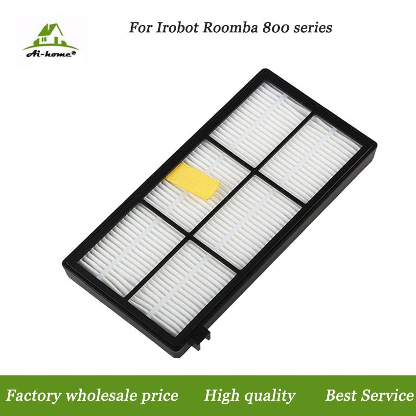 New High Quality Hepa Filter Accessory For iRobot Roomba 800 900 Series 870 880 980 Filters Vacuum Robots Replacements Parts