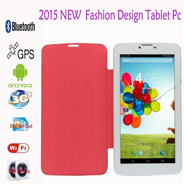 7 Inch Leather holeter 3G Phone Call Android Tablets Pc WiFi GPS Bluetooth tablet pc SIM Card pc tablet 7 8 9 10 10.1 inch