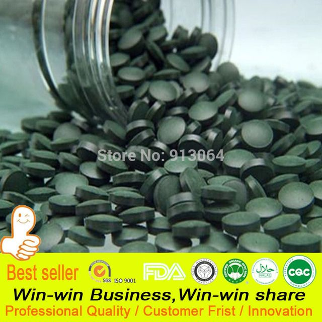 Export quality Anti-fatigue Anti-radiation Enhance-immune  natural organic Spirulina Tablet  rich vitamin slimming & beauty