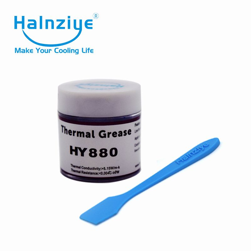 Free shipping!!! silicone thermal grease/thermal compound/thermal paste HY880 10g for 3D printer with high working temperature