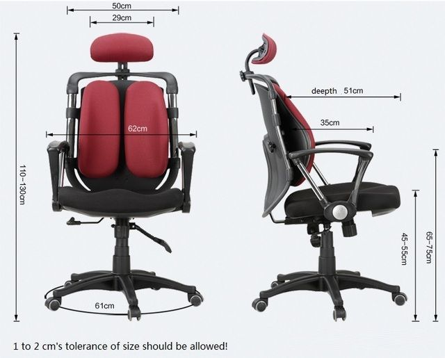 Double-back office lift chair European and American popular computer chair wholesale and retail free shipping