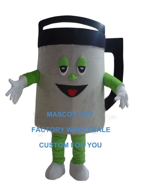 kettle mascot costume Insulation pot canteen custom cartoon character cosplay carnival costume 3480