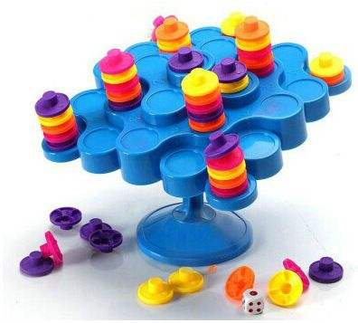 Topple Balance Game Don't Let Topple As You Try To Score Points Kids Children Great Family Activity