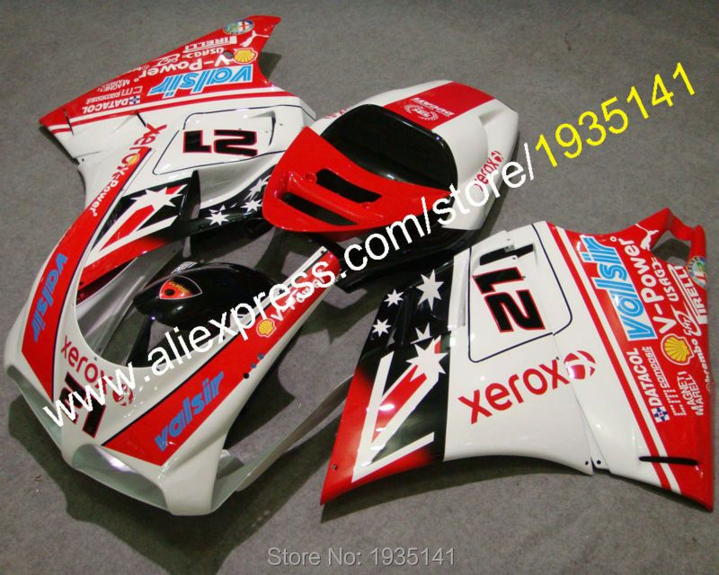 Fashion cowling For Ducati 996 748 DUCATI 748 996 1996-2002 motorbike body fairing fittings set (Injection molding)