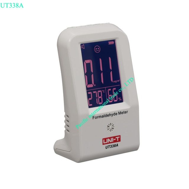 High Precision Indoor Formaldehyde  Meter Formaldehyde  Data Logger Detector Air Monitor Thermometer Hygrometer LCD UNI-T UT338A