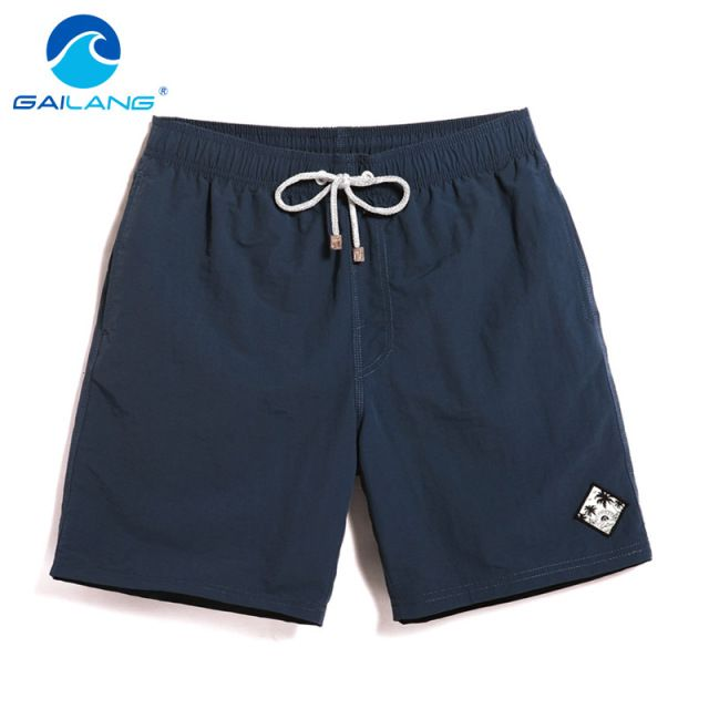 Gailang Brand Summer Mens Beach Shorts Casual Men Boardshorts polyester Quick Drying Bermuda Big Size XXXL Board Shorts Boxers
