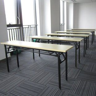 Office furniture bar staff training tables folding conference table desk long field activity units