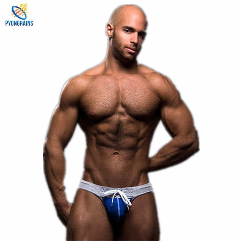 2016 New Mens Jockstraps Thongs G Strings Brand Sexy Men Underwear Gay Men Underwear Fashion Design Penis Pouch 2 Pcs