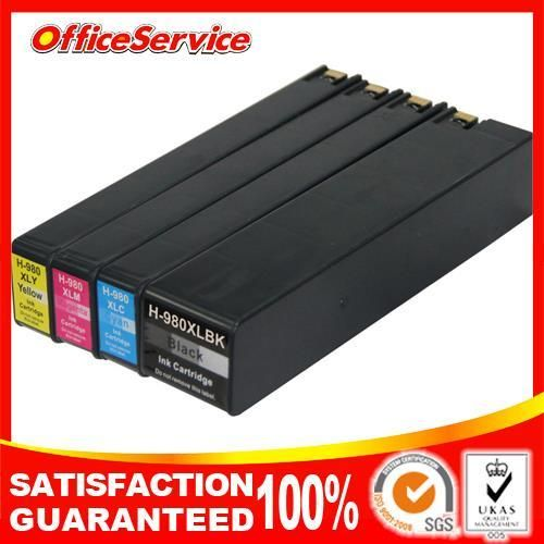 compatible ink cartridge for hp 980xl  hp 981xl  X555dn X555xh X585dn MFP X585f MFP X585z MFP